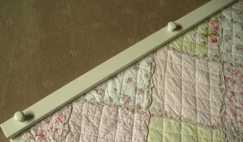 Thats Graphic: Quilt hangers - great for shabby chic quilts : quilt wall hangers wooden - Adamdwight.com
